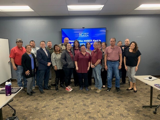 AATTAP – AIIC Team Members and Representatives from the Wyoming State Patrol and Wind River Inter-Tribal Council