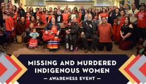 Group Photo from the Missing and Murdered Indigenous Women Awareness Event in Oregon, May 2020