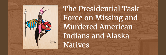 Presidential Task Force on Missing and Murdered American Indians and Alaskan Natives Logo